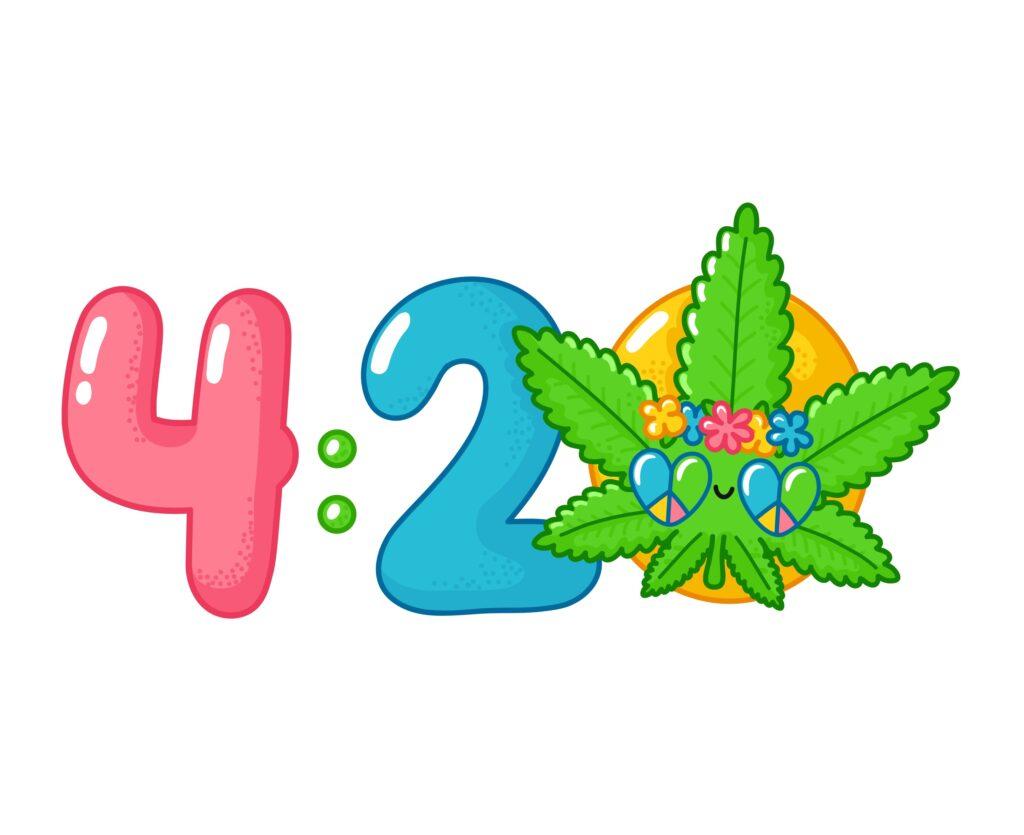 Top Cannabis Inspiring Marketing Campaigns. 420 drawing.