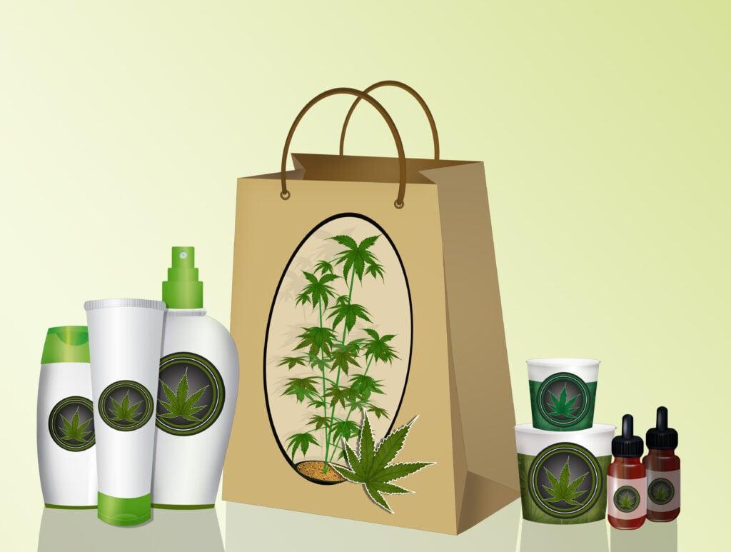 Top Marijuana Products In Washington For 2017. Bag with marijuana products.