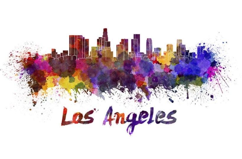 Best Places to Smoke Marijuana in LA. LA skyline