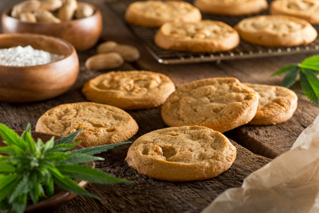 Top Marijuana Business Ventures To Start From Your Kitchen Table. Cookies on a table.
