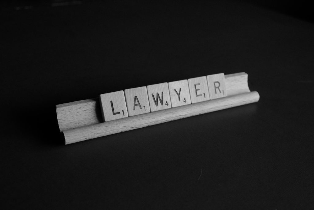10 Powerful Cannabis Lawyers in California. Letter pieces spelling lawyer.