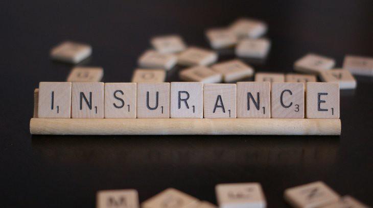 Hemp Insurance in 2020: Can you Insure Hemp? Scrabble pieces spelling insurance.