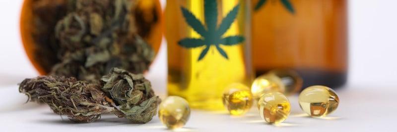 Marijuana bud and oil from Sunnyside Dispensary