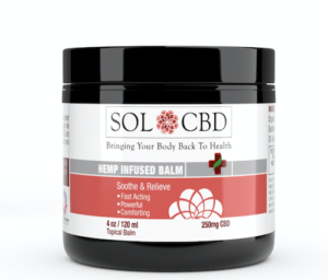 sol cbd review balm