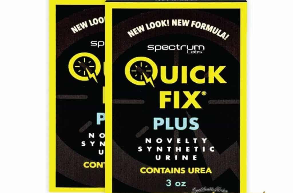 Quick Fix Urine Reviews